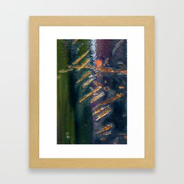 Metal Scratch Framed Art Print
