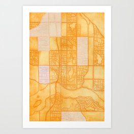 Midtown is our Home. Art Print