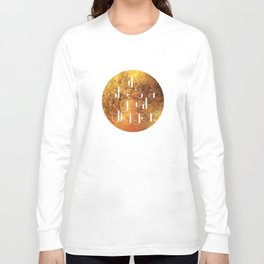 Oh She's A Goal Digger - Golden Long Sleeve T-shirt