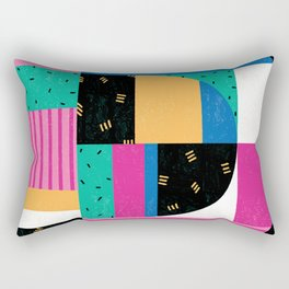 Letter D Rectangular Pillow