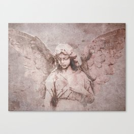 A Guardian Angel, To Watch Over Us A322b Canvas Print