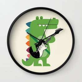 Croco Rock Wall Clock