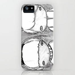 Indigo Twins iPhone Case