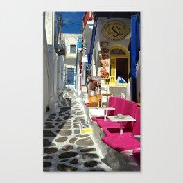 Cafe - Snack Bar Canvas Print