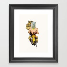 Sexy Polar Bear Framed Art Print