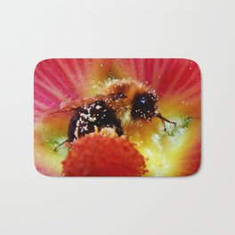The Bee in the Flower Bath Mat