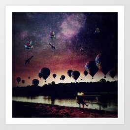 The View from Here Art Print