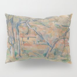 Trees and Houses, Provence Pillow Sham
