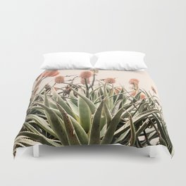 Cactus Blooms 2 Duvet Cover
