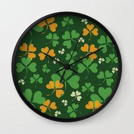 Happy St.Patrick's Day Wall Clock