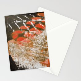 Materials Collage Stationery Cards