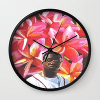gucci Wall Clocks featuring gucci mane floral by Cree.8