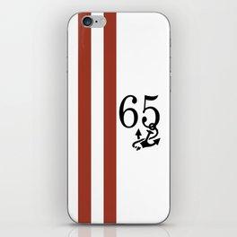 Nautical Number Print iPhone Skin