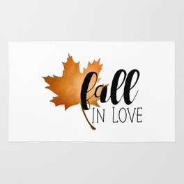 Fall In Love Rug