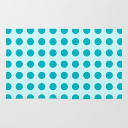 Pappy Place Polka Dots in Blue Rug