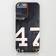 47 Red Window iPhone 6s Slim Case
