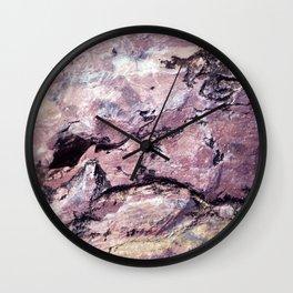 Rock Texture Wall Clock