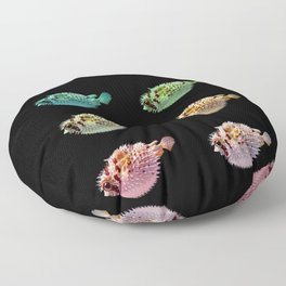 Pop Pufferfish Floor Pillow