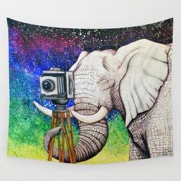 Elephant II Wall Tapestry