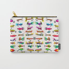 All the Fishing Lures - Illustration Carry-All Pouch