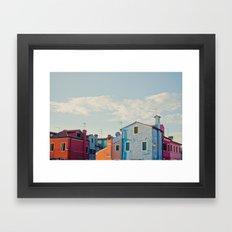 Burano Island VII Framed Art Print