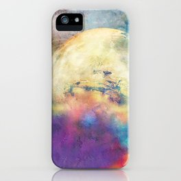 The MOON 3 iPhone Case