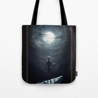 jack frost Tote Bags featuring Jack Frost by Westling