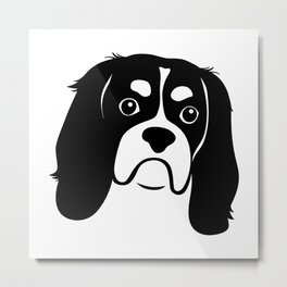 Behold, the Cavalier King Charles Spaniel Metal Print