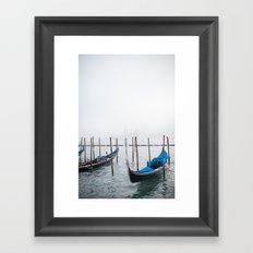Winter in Venice Framed Art Print