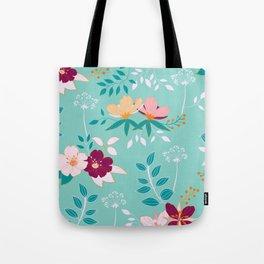 Flowers of fantasy Tote Bag