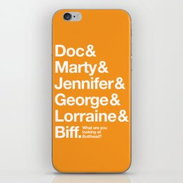 The Future - Gilmore Style iPhone Skin
