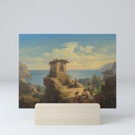 Frederik Ludvig Storch (1805-1883), landscape Mini Art Print