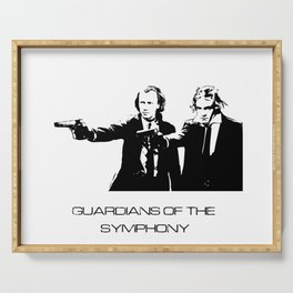 Brahms & Beethoven Guardians of the Symphony Serving Tray