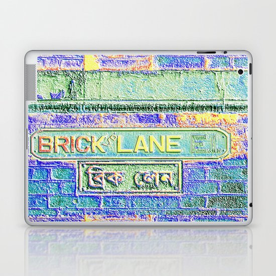 Brick Lane B Laptop & iPad Skin