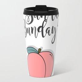 Sunday Bunday Travel Mug
