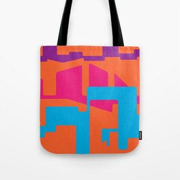 LINES AND TROUBLES Tote Bag