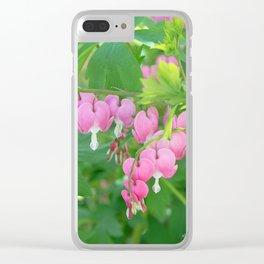 Bleeding Hearts 2 Clear iPhone Case