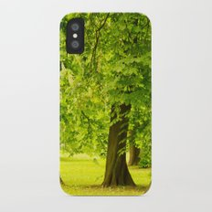 One day in the park - tranquil mood - #society6 #buyart iPhone X Slim Case
