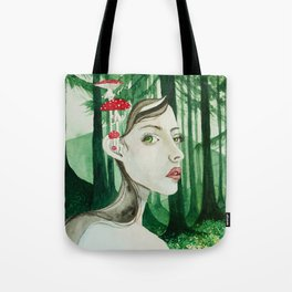 Forest sprite Tote Bag