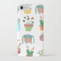 plants iPhone & iPod Cases featuring Plants. by Elga Libano