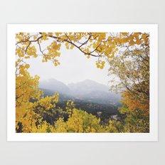 Fall Frame Art Print