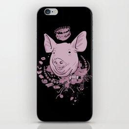 pig parts iPhone Skin