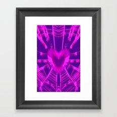 WEB OF LOVE Framed Art Print