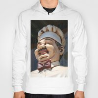 chef Hoodies featuring CHEF by Andrea Jean Clausen - andreajeanco