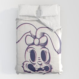 Pendemonium Bunny by Madelyn DiPasquale Comforters
