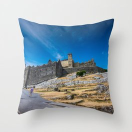 Rock of Cashel, Ireland Throw Pillow