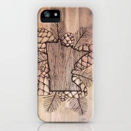 Minnesota Outdoors iPhone Case