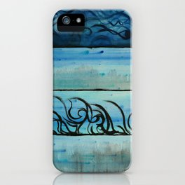 Four Waters Come to Life iPhone Case