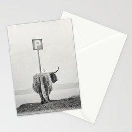 highland visitor Stationery Cards