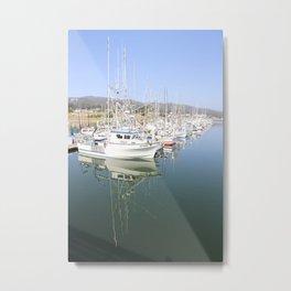 A Safe Harbor Metal Print